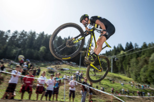 Timon Rüegg, Weltcup Val di Sole (IT) 2017